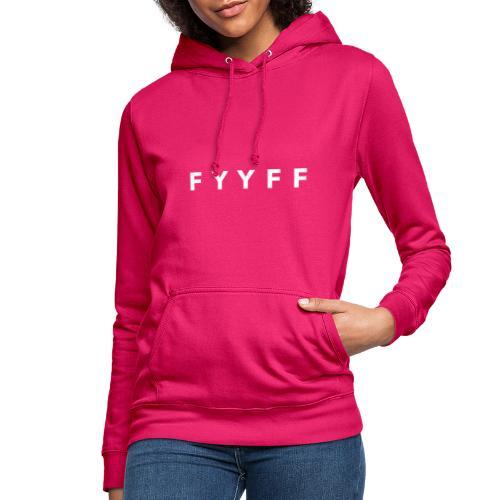 FYYFF Code White - Frauen Hoodie