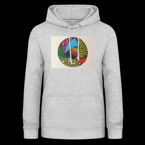 circle corlor - Dame hoodie