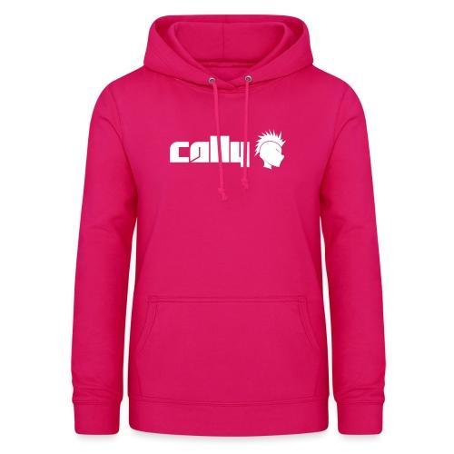 Cally White Logo - Women's Hoodie