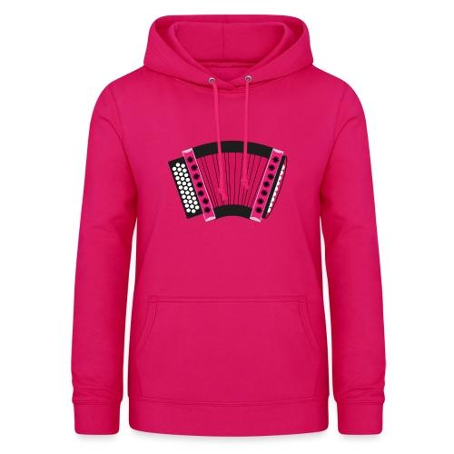 Schwyzerörgeli pink - Frauen Hoodie