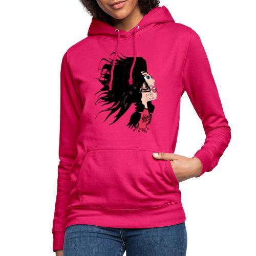 Catrina para chicas - Sudadera con capucha para mujer