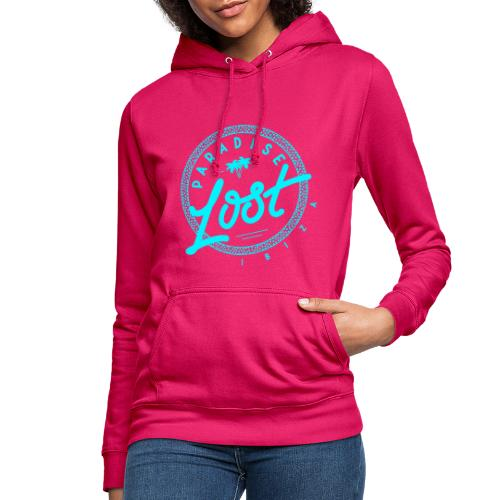 Paradise Lost Ibiza - Acid Blue Logo - Women's Hoodie