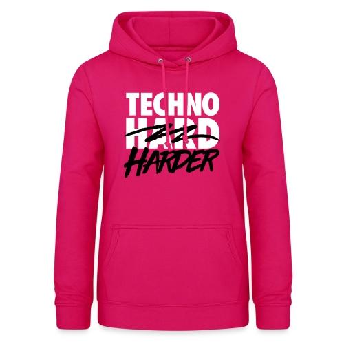 Techno harder - Women's Hoodie