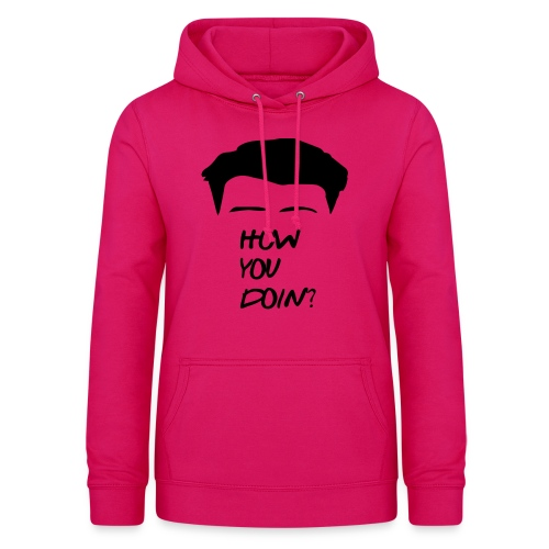 How You Doin Best Friend Gift T-Shirt - Felpa con cappuccio da donna