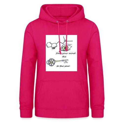 Free your mind - Vrouwen hoodie