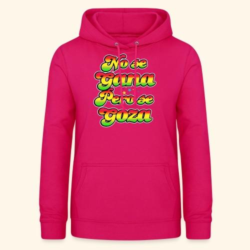 Perú - Frase típica - Sudadera con capucha para mujer