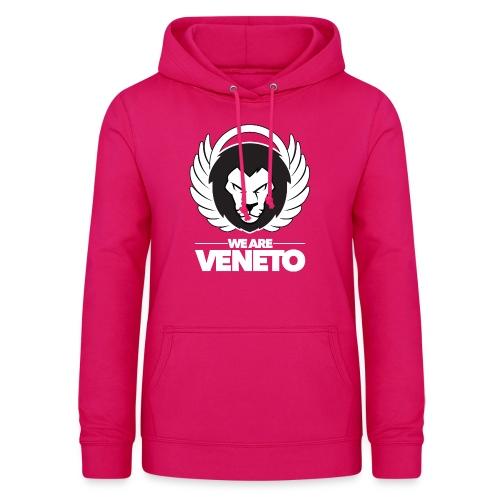 We Are Veneto - Felpa con cappuccio da donna