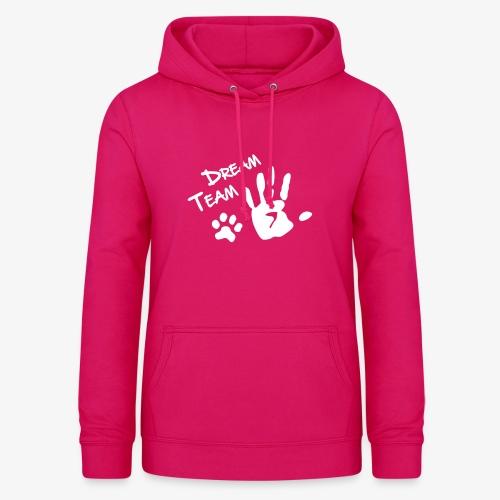 Dream Team Hand Hundpfote - Frauen Hoodie