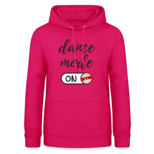 Shirt dance mode schw - Frauen Hoodie