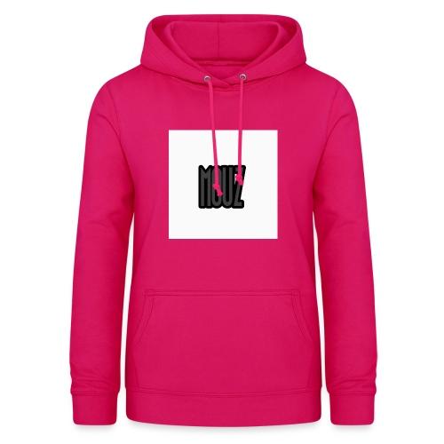 Mouz Black and Grey Design - Women's Hoodie