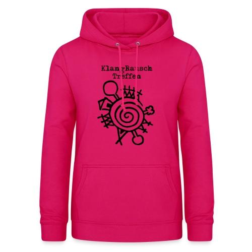 KlangRauschTreffen Logo mit Schrift - Frauen Hoodie