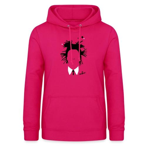 Jean Michel Basquiat - Felpa con cappuccio da donna