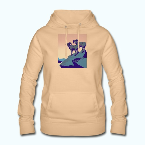 Vintage Capricorn Travel Poster - Women's Hoodie