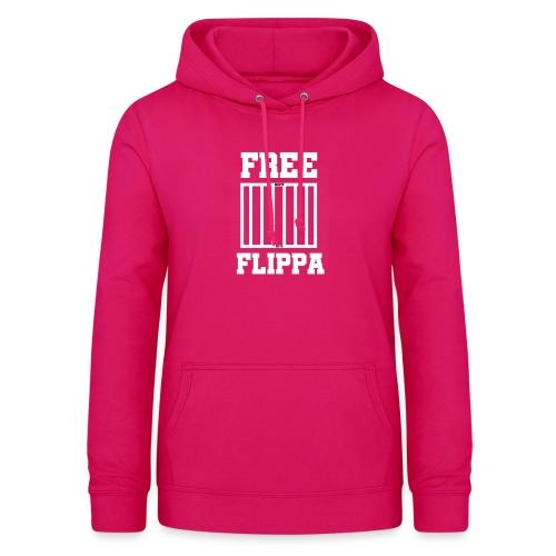 Free Flippa Wit - Vrouwen hoodie