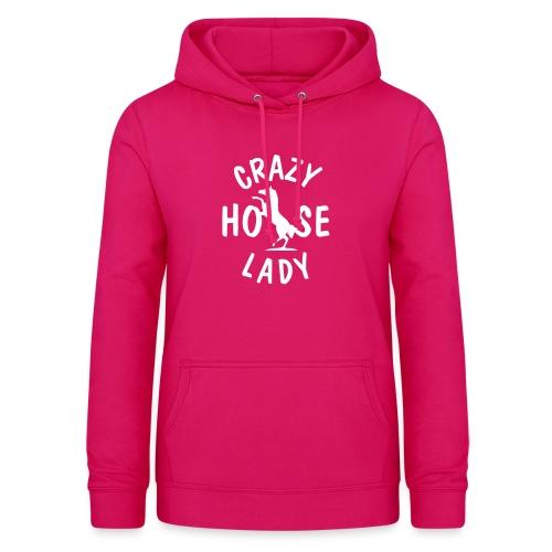 Vorschau: crazy horse lady - Frauen Hoodie