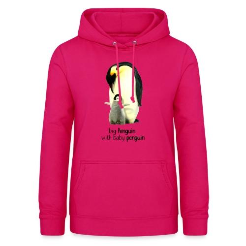 Pingvin - Dame hoodie