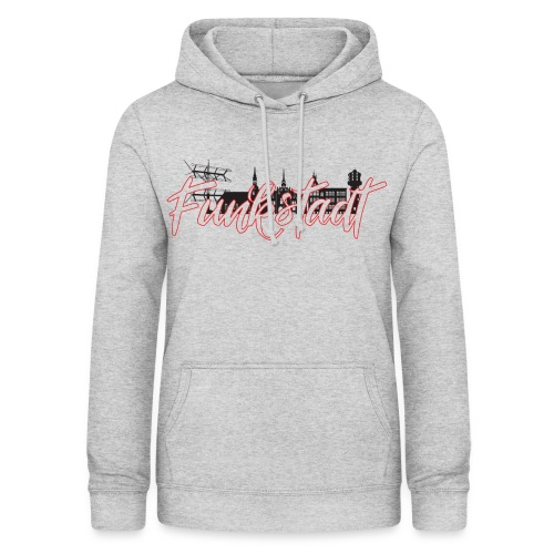 Funkstadt Shirt black / red - Frauen Hoodie