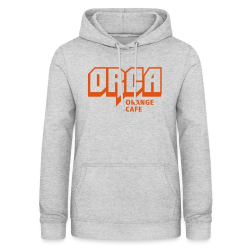 Hoodie mit ORCA-Logo orange - Frauen Hoodie
