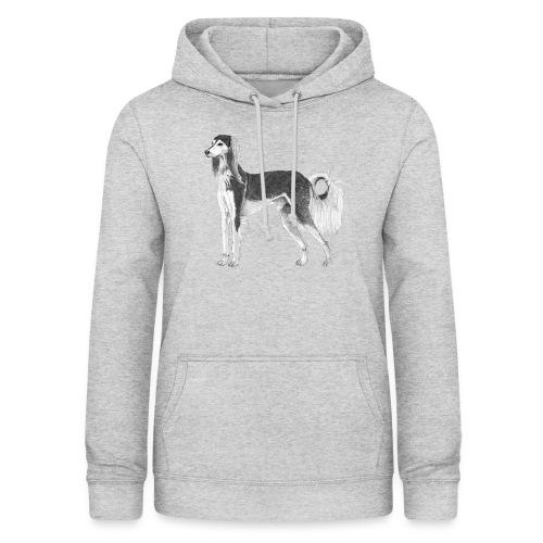 saluki - Dame hoodie