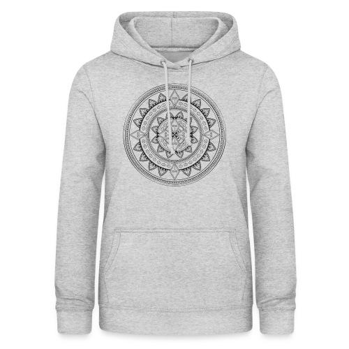 Mandala - Sudadera con capucha para mujer
