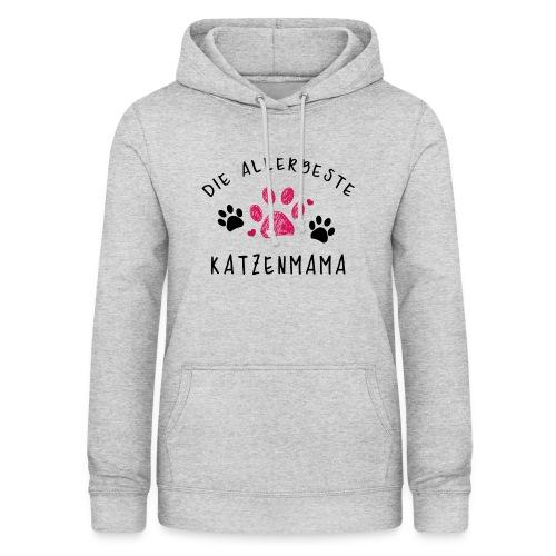 Die allerbeste Katzenmama - Frauen Hoodie