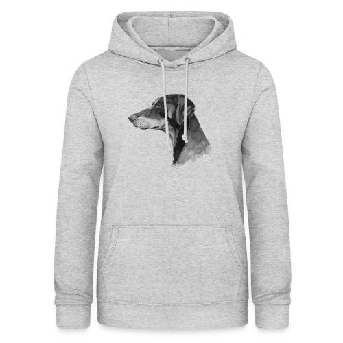 doberman pincher - Dame hoodie