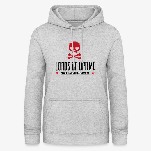 Lords of Uptime black - Frauen Hoodie
