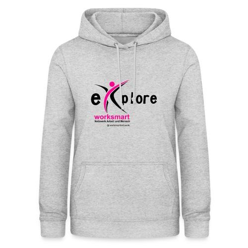 Shirt worksmart explore - Frauen Hoodie