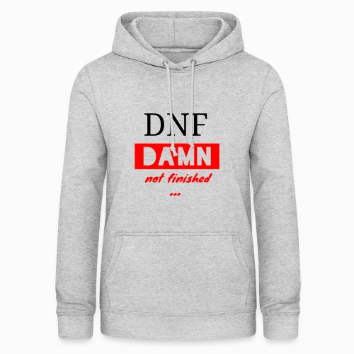 CA_Fashion official Cubing Edition DNF DAMN ... - Women's Hoodie