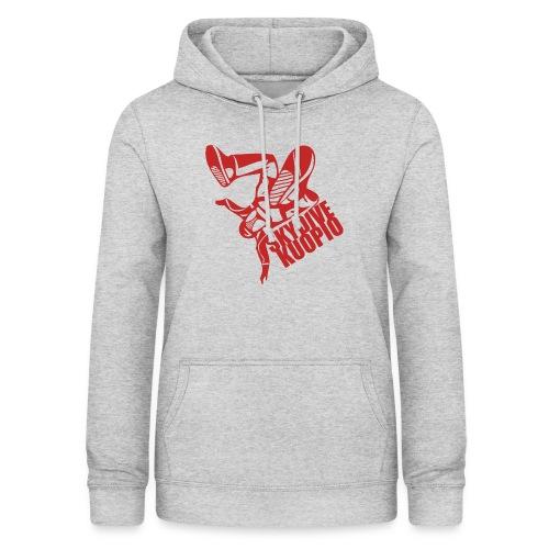 KLU logo red - Naisten huppari