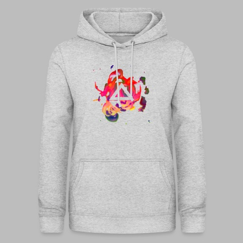 APlays Abstract Explosion Design - Women's Hoodie