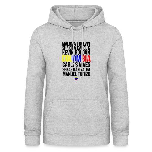 Reggaeton Shirt Kolumbien - Frauen Hoodie