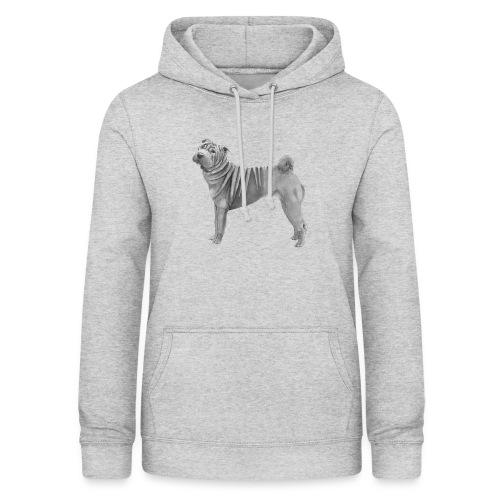 shar pei - Dame hoodie