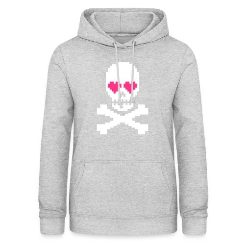 Skull Love - Vrouwen hoodie