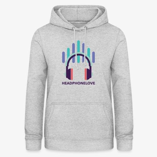 headphonelove - Frauen Hoodie