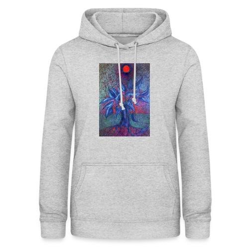 DrzewoKwiat - Bluza damska z kapturem