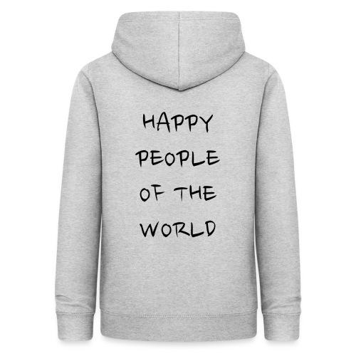 Happy People Of The World - Vrouwen hoodie