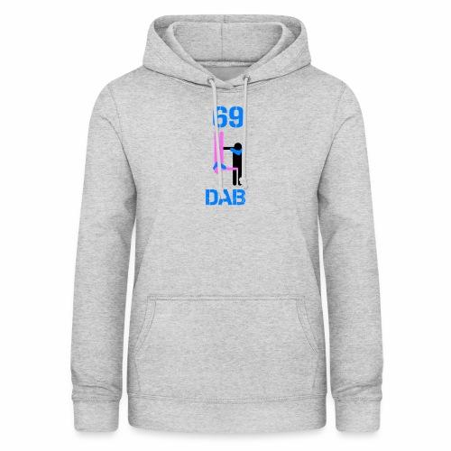 69 Dab Erotica - Felpa con cappuccio da donna