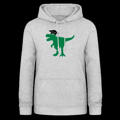 Dinosaurier Doktorhut Promotion Dissertation - Frauen Hoodie