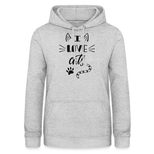 I love cats - Frauen Hoodie