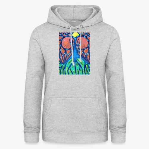Drapieżne Drzewo - Bluza damska z kapturem