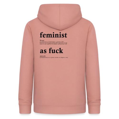 FEMINIST AF - Frauen Hoodie