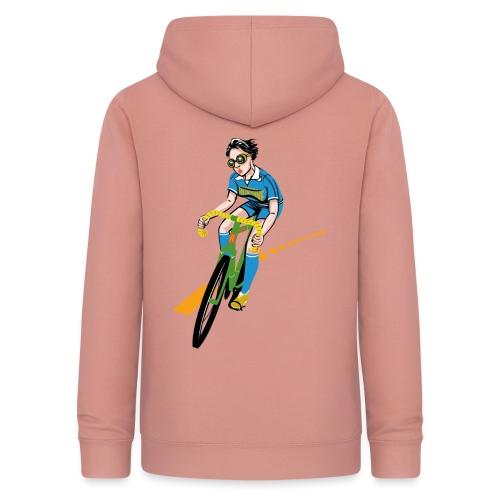 The Bicycle Girl - Frauen Hoodie