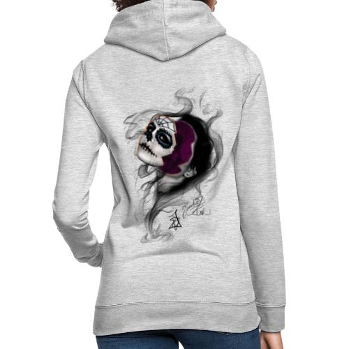 catrina - Sudadera con capucha para mujer