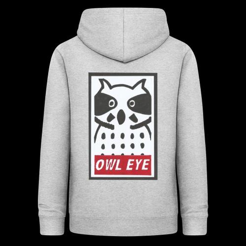 Owl Eye - Frauen Hoodie