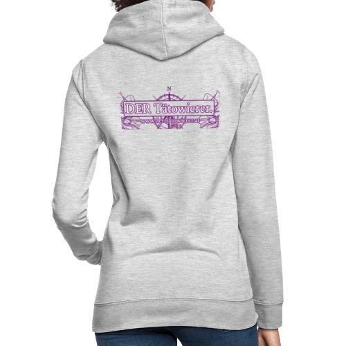 DER Taetowierer Logowear - Frauen Hoodie