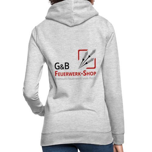 G & B Feuerwerk Shop Logo - Frauen Hoodie