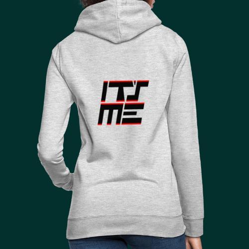 Logo It sME quadrato - Felpa con cappuccio da donna