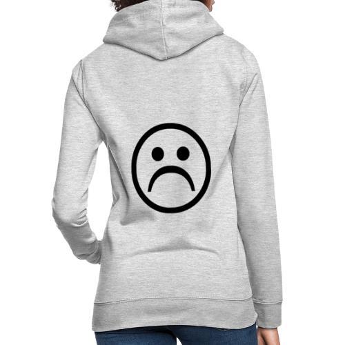 carita triste - Sudadera con capucha para mujer