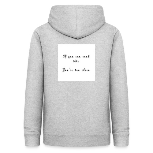 If you can read this, You're too close - Dame hoodie